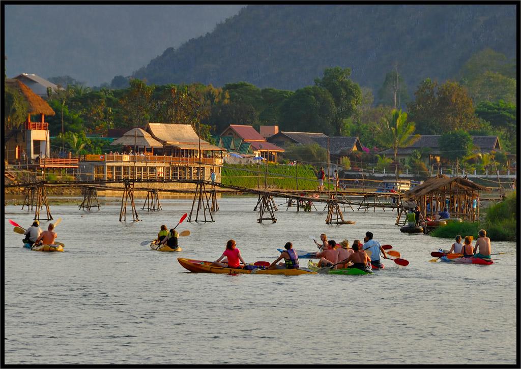 Лаос, Камбоджа и Бангкок